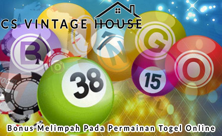 Togel Online Bonus Melimpah Untuk Anda - Csvintagehouse